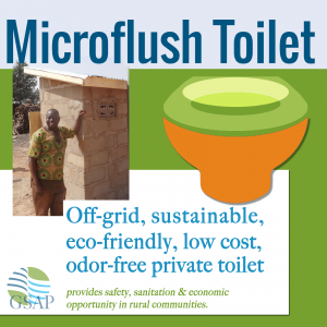 GSAP Microflush Toilet