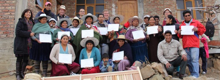 25 New Toilet MAKERs Trained in Bolivia