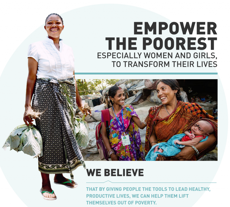 Empower Women, Improve Communities